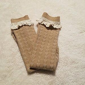 Pretty Lace Boot Socks